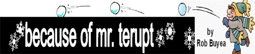 game for Because of Mr. Terupt for immediate download for only $12.95