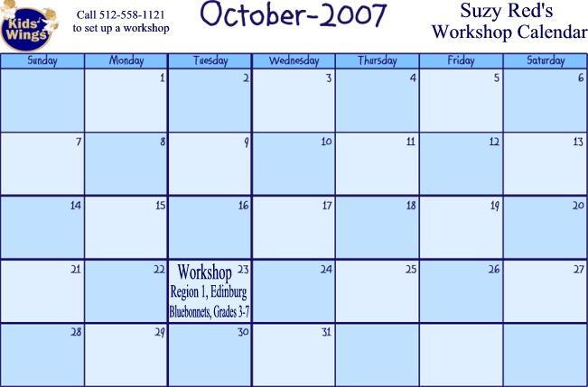 October 2007 Calendar New Calendar Template Site